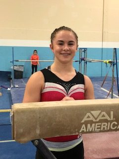 Anna Roberts selected for the Nastia Cup!