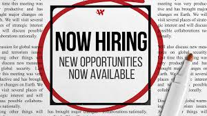Now Hiring – Office Assistant and Bookkeeper