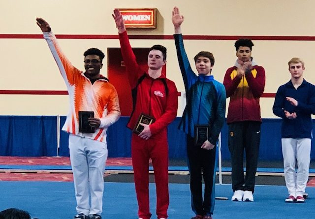 Nick Kuebler Wins GOLD at the 2019 Winter Cup