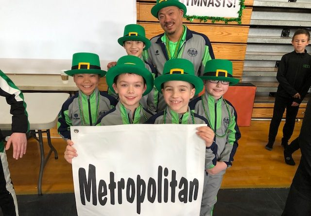 Metropolitan Boys Teams Bring Home GOLD on St. Patrick's Day!
