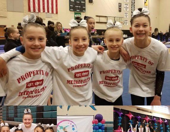 Metropolitan Girls Show Whose Boss at Optional State Championships.
