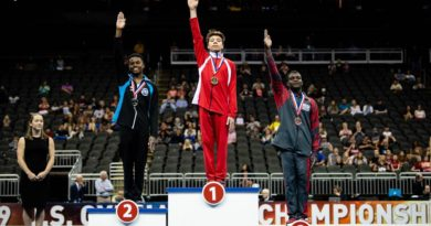 Nick Kuebler – 2019 US National Floor and High Bar Champion!